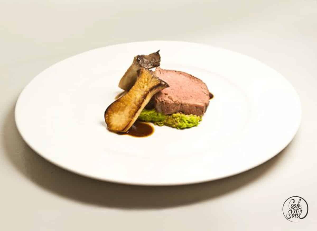 Steak vom Angusochsen