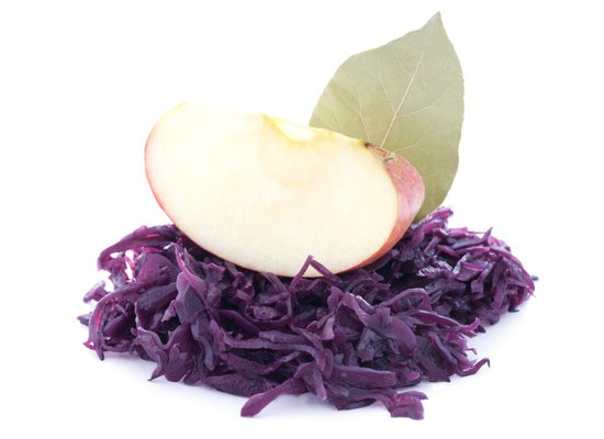 Apfelrotkohl / red cabbage and apple