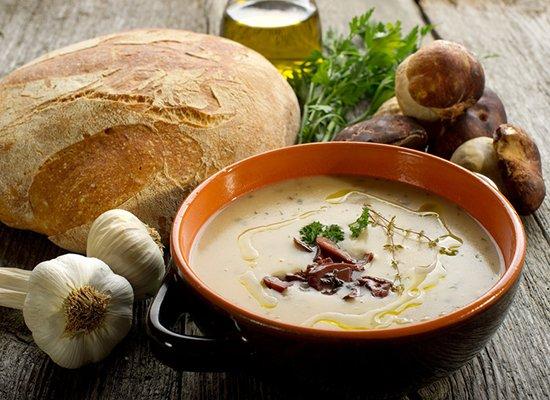 cep soupe- crema di funghi porcini