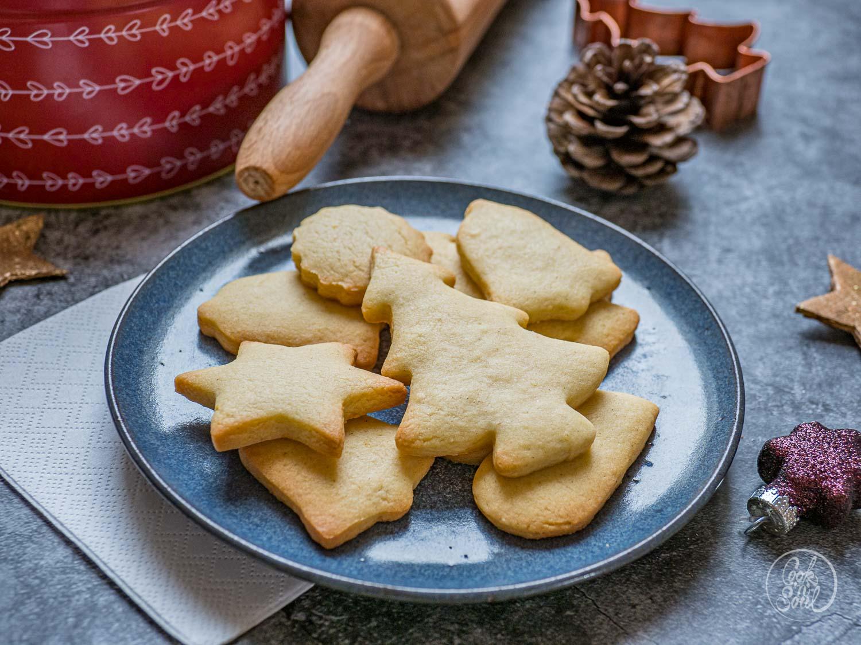 Butterplätzchen Weihnachten Rezept