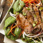 Rindfleischsalat mit Ingwer