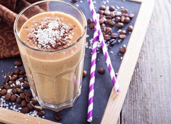 Eiskaffe Kokosmilch