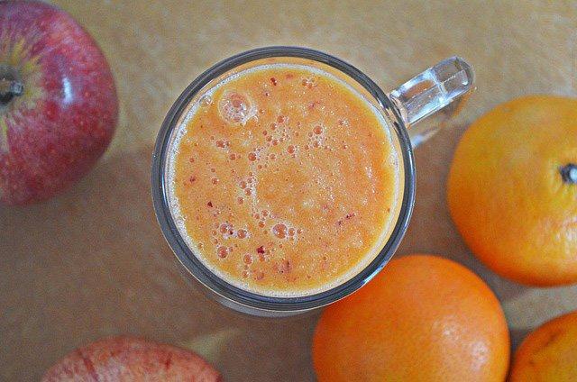 Apfel Orangen Smoothie