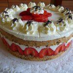 Erdbeer Schoko Torte