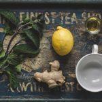 Scharfer Zitronengrass Ingwertee