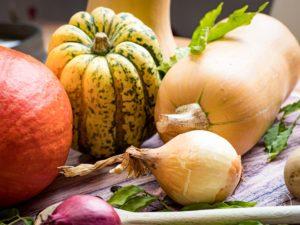 Saisonale Rezepte September Kürbis