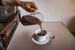 Und finally: Herrlich duftender Kaffee