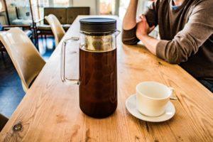 In der Kanne bleibt der Kaffee warm und sie macht sich super auf dem Tisch...