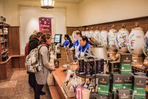 An der Dallmayr Kaffee-Theke: Darf es ein wenig Prodomo sein?