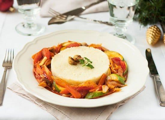 Ratatouille Couscous