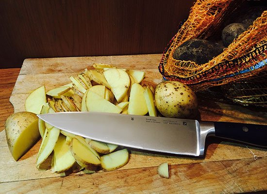 Kochmesser Kartoffeln
