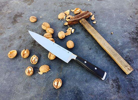 WMF Kochmesser Nüsse