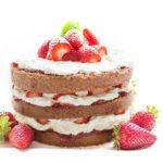 Desserts mit Erdbeeren