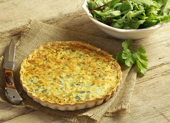 Fenchel Quiche