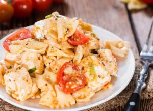 Pastasalat Tomate Mozzarella