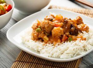 asiatischer Reis