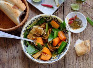 asiatisches Karottengemuese