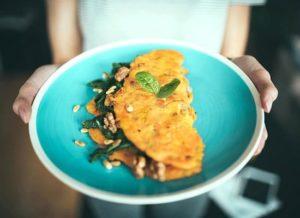 Mangold Omelette