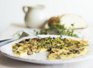 Pilz Omelette