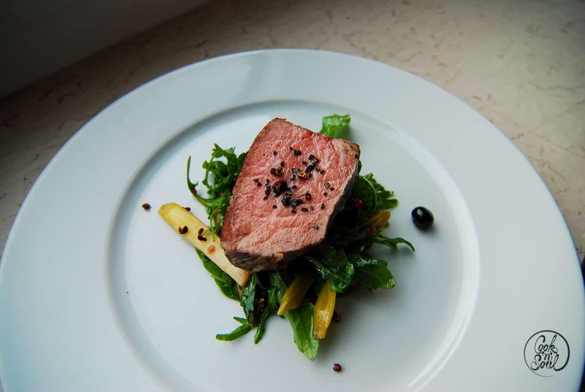 Salat zum Steak