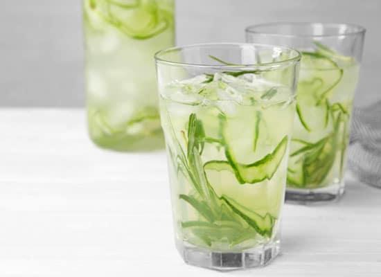 Gin Tonic mit Gurke - perfekt für den Sommer