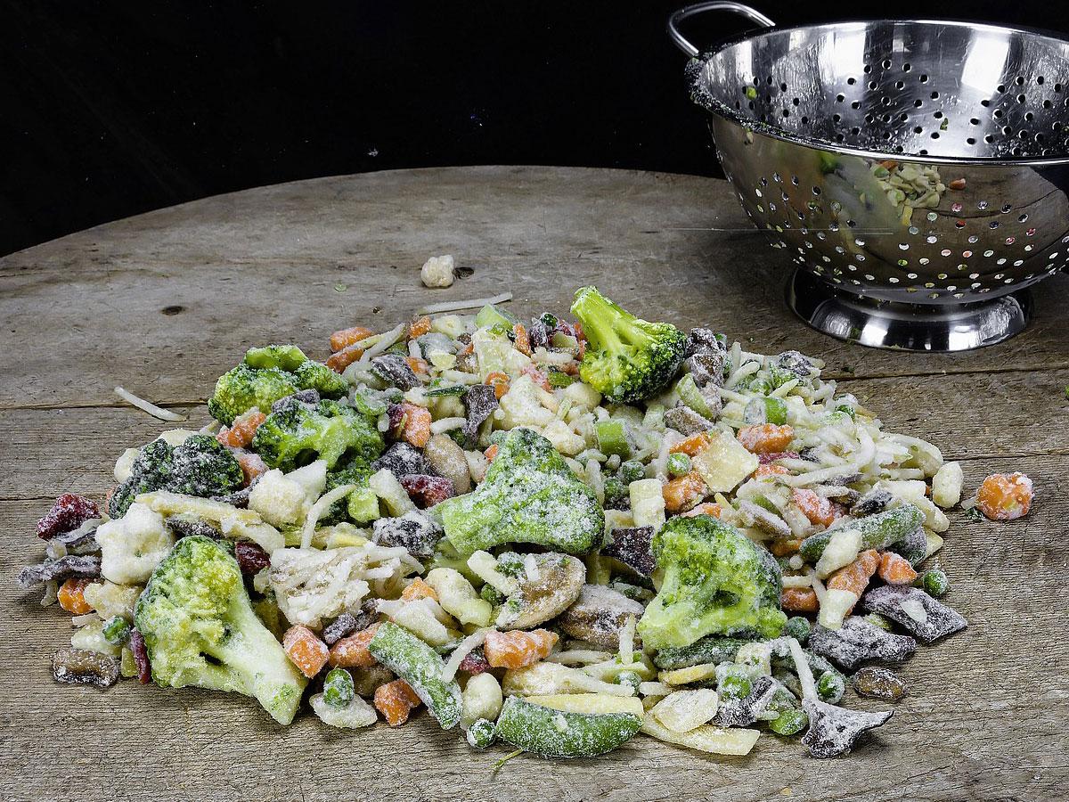 ist gefrorenes Obst und Gemüse gesund