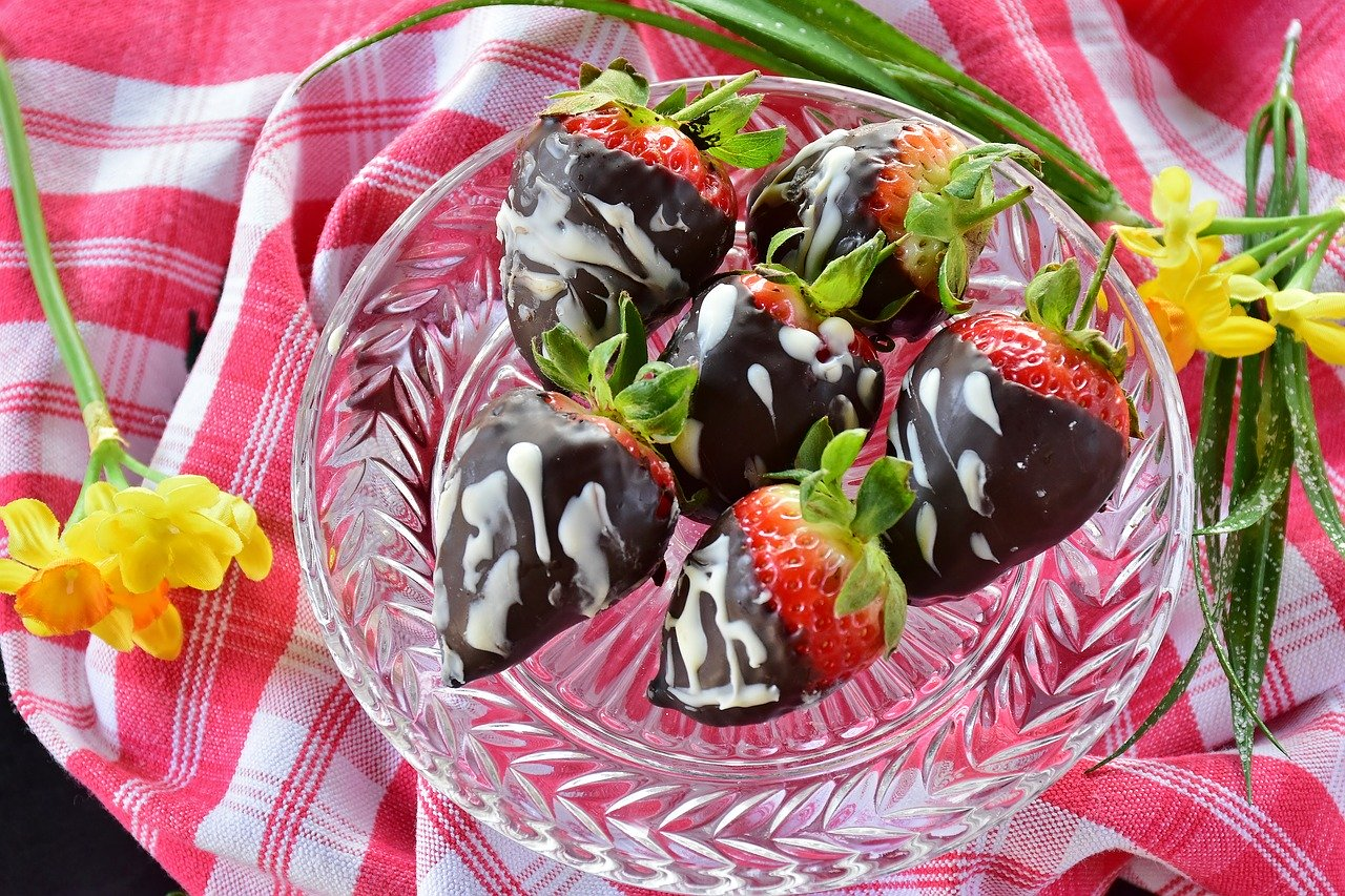 Schoko Erdbeeren Rezept