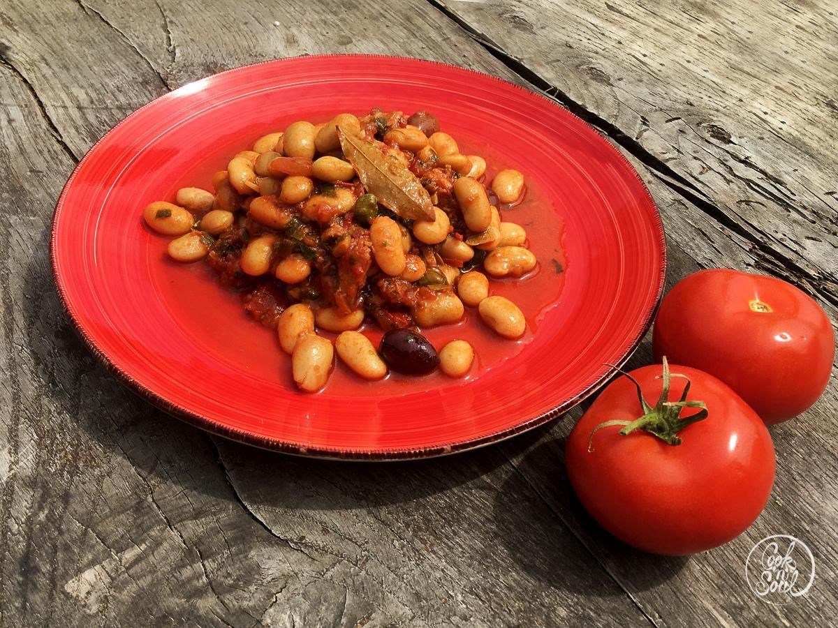 Bohnensalat Putanesca