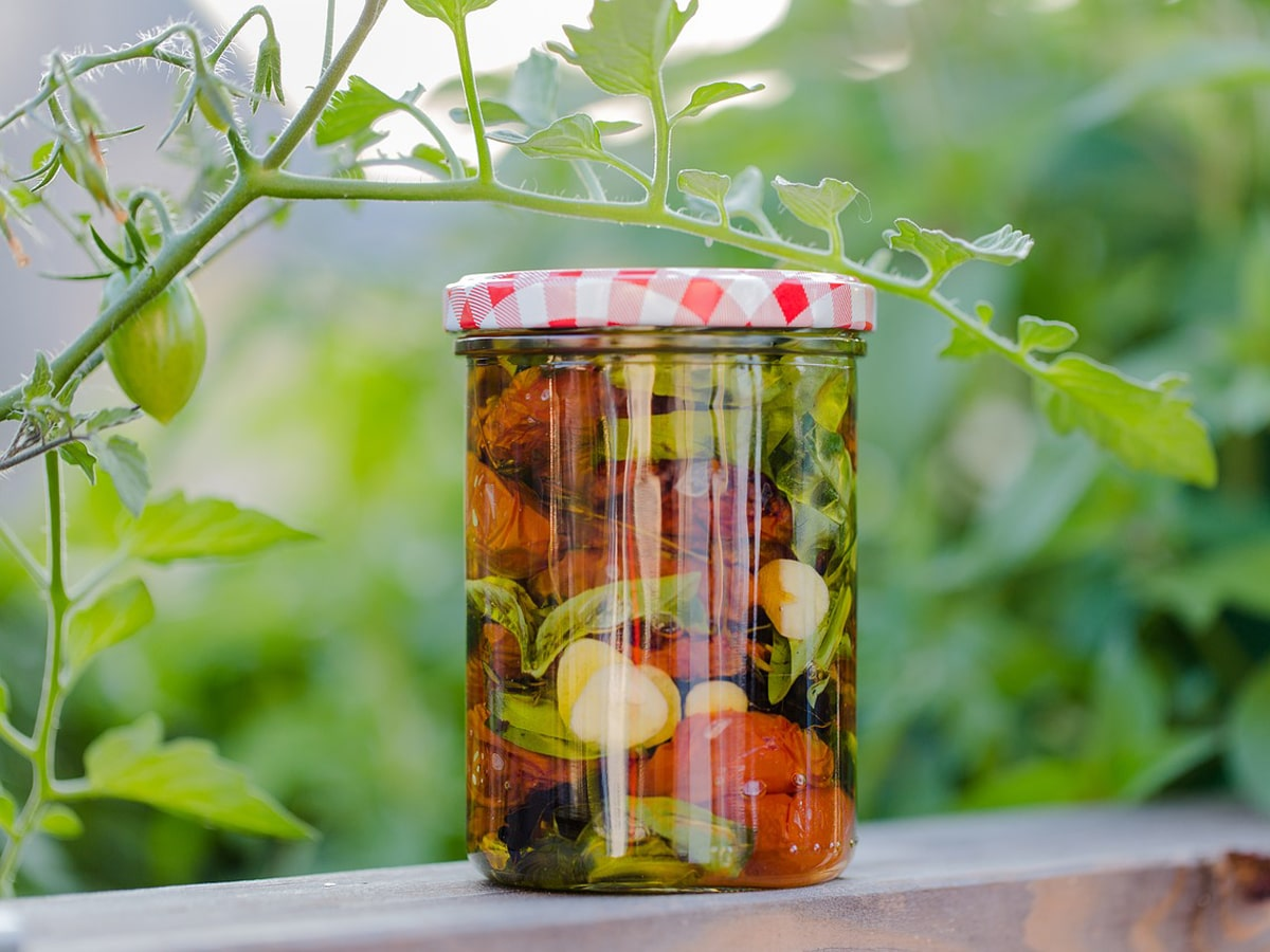 Tomaten einlegen