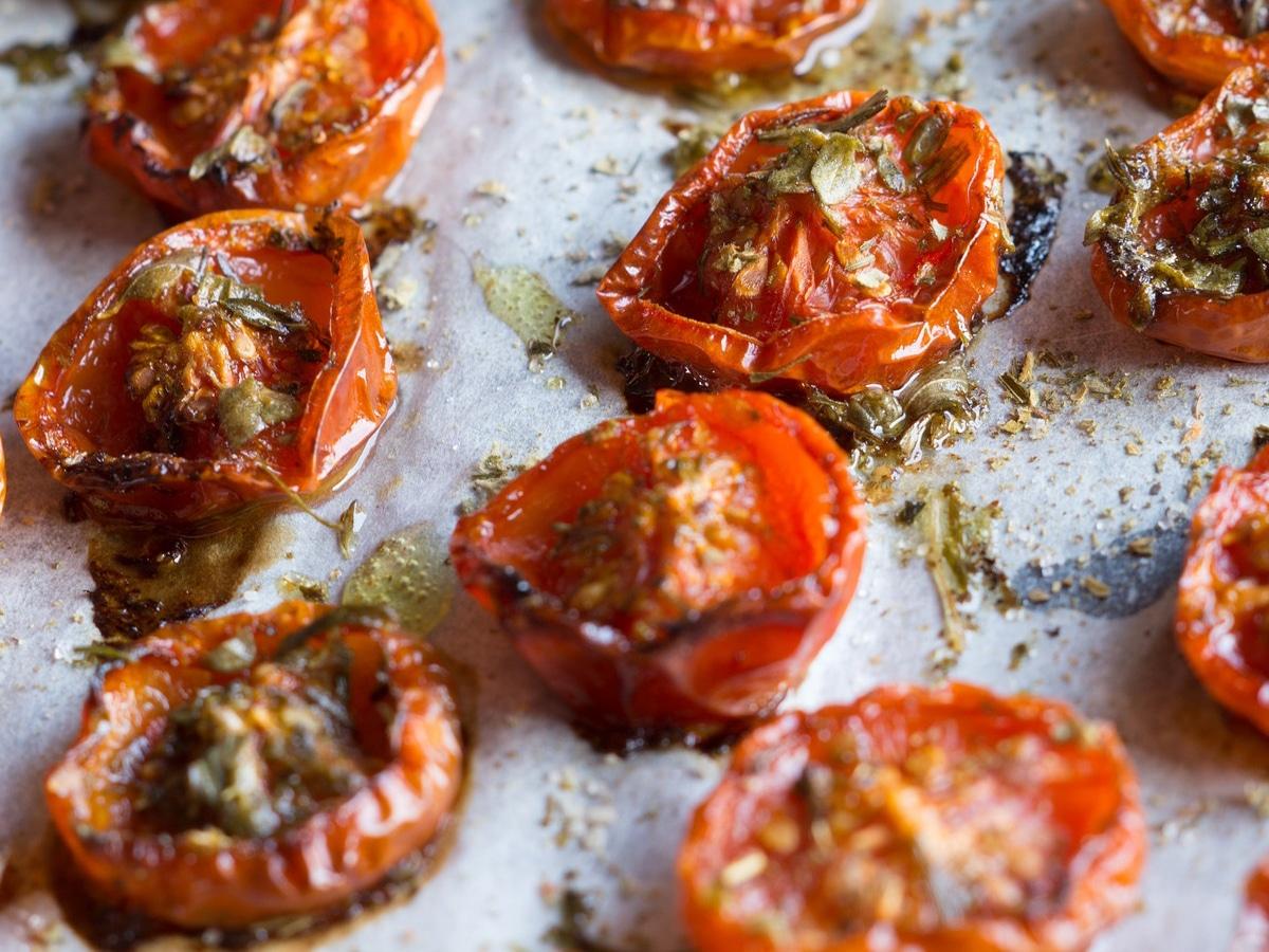 Tomaten trocknen