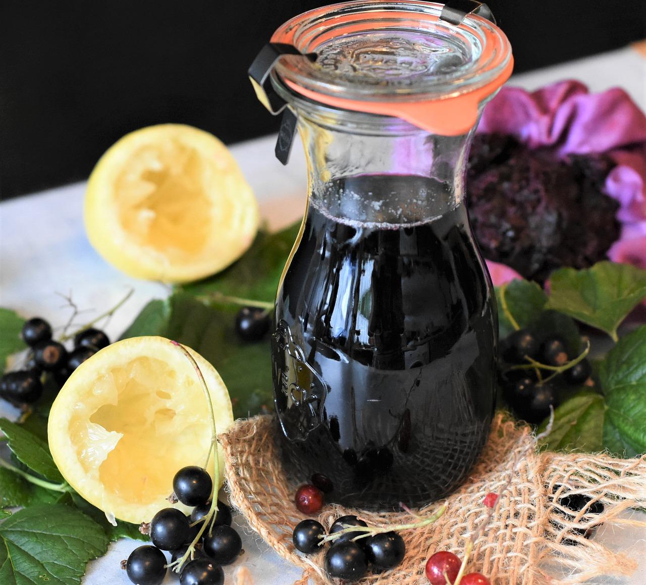 Cassis Sirup Rezept
