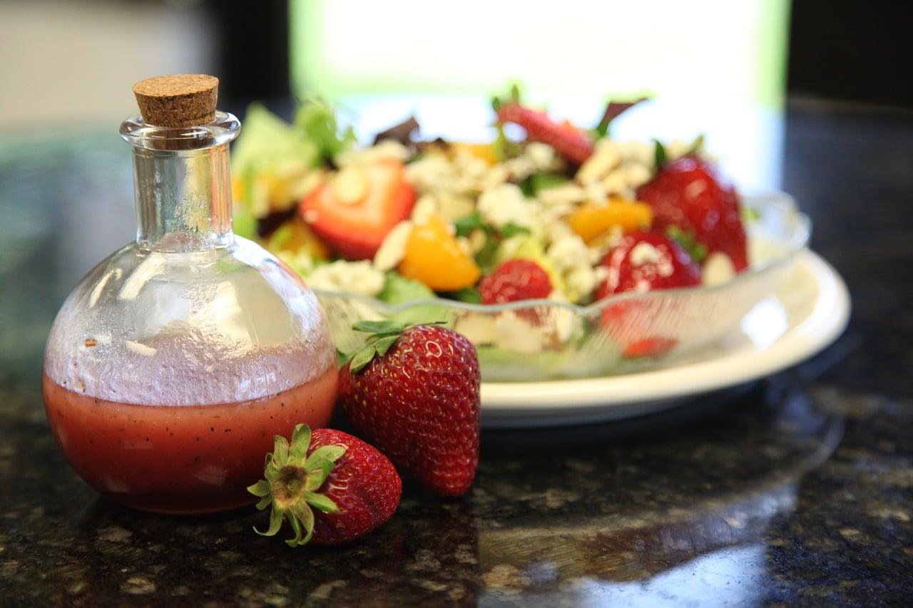 Erdbeer Dressing Rezept