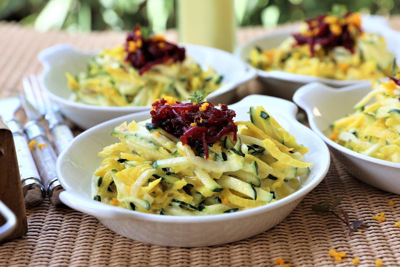 Zucchini Salat Rezept