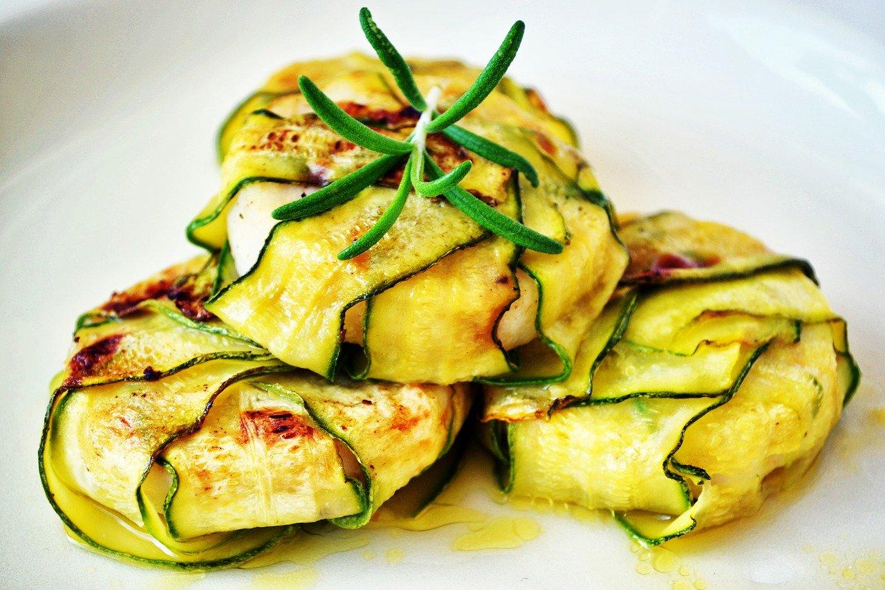 Zucchini Wraps Rezept