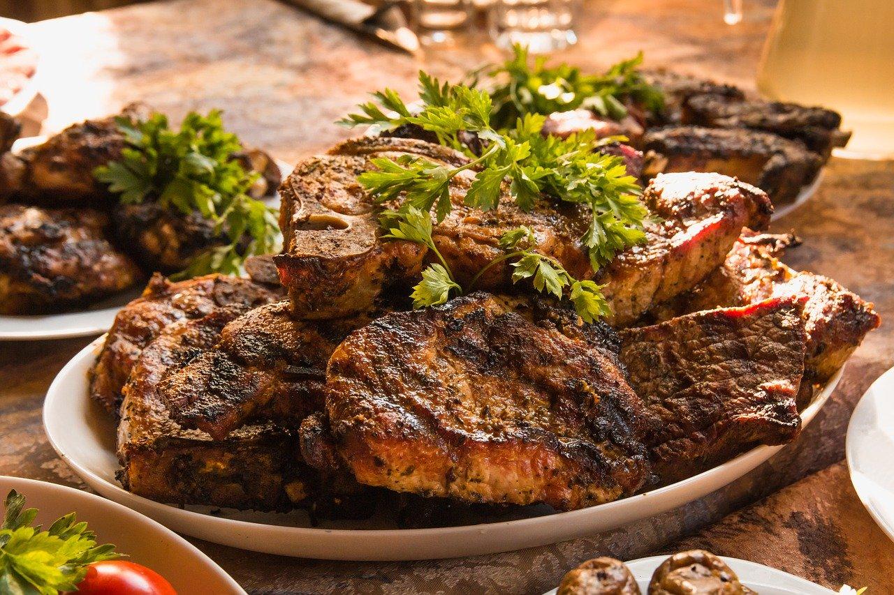 Fleisch grillen