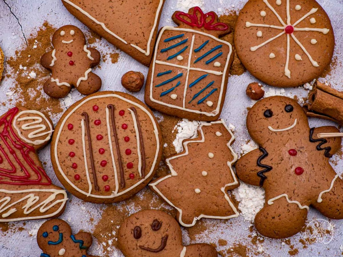 lebkuchen kekse  köstliche plätzchen für den advent