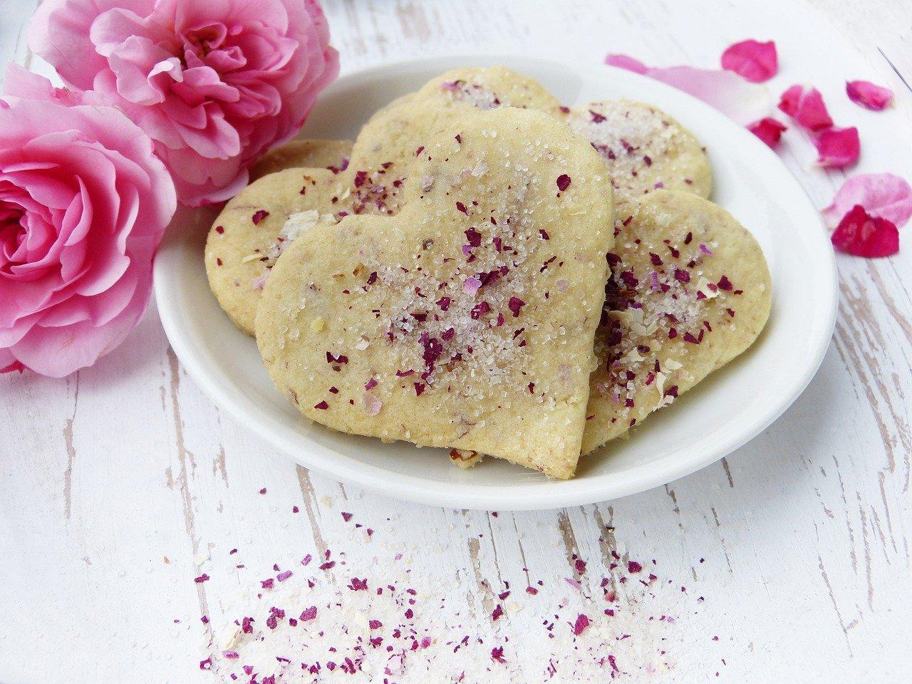 Rosen Butterkekse Rezept