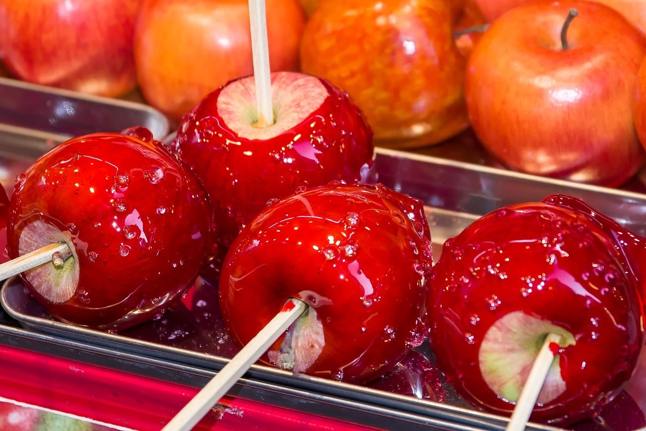Kandierte Äpfel Rezept