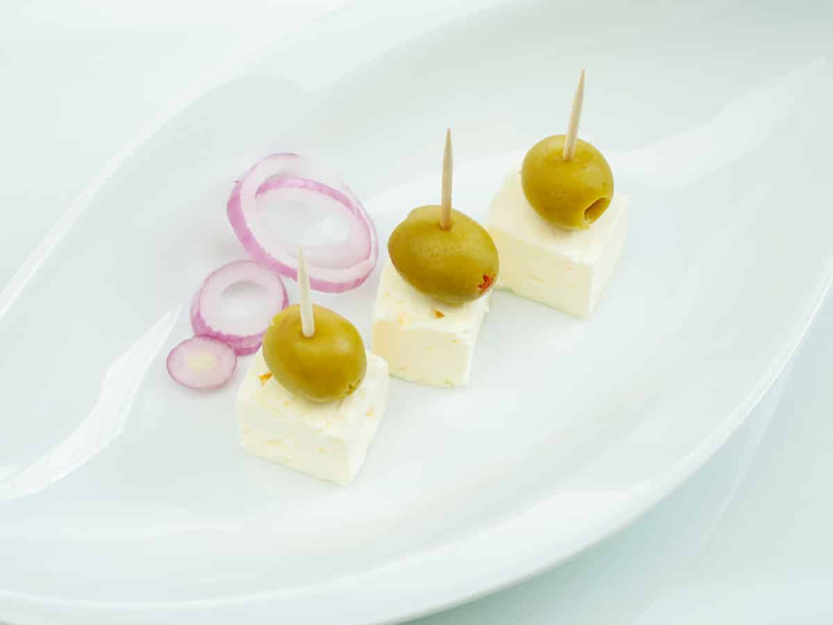 Fetakaese mit Oliven