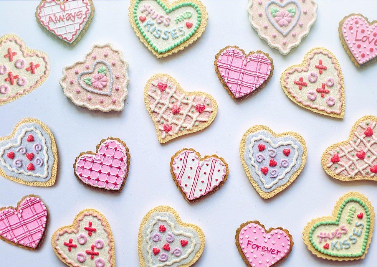 Herzkekse zum Valentinstag Rezept