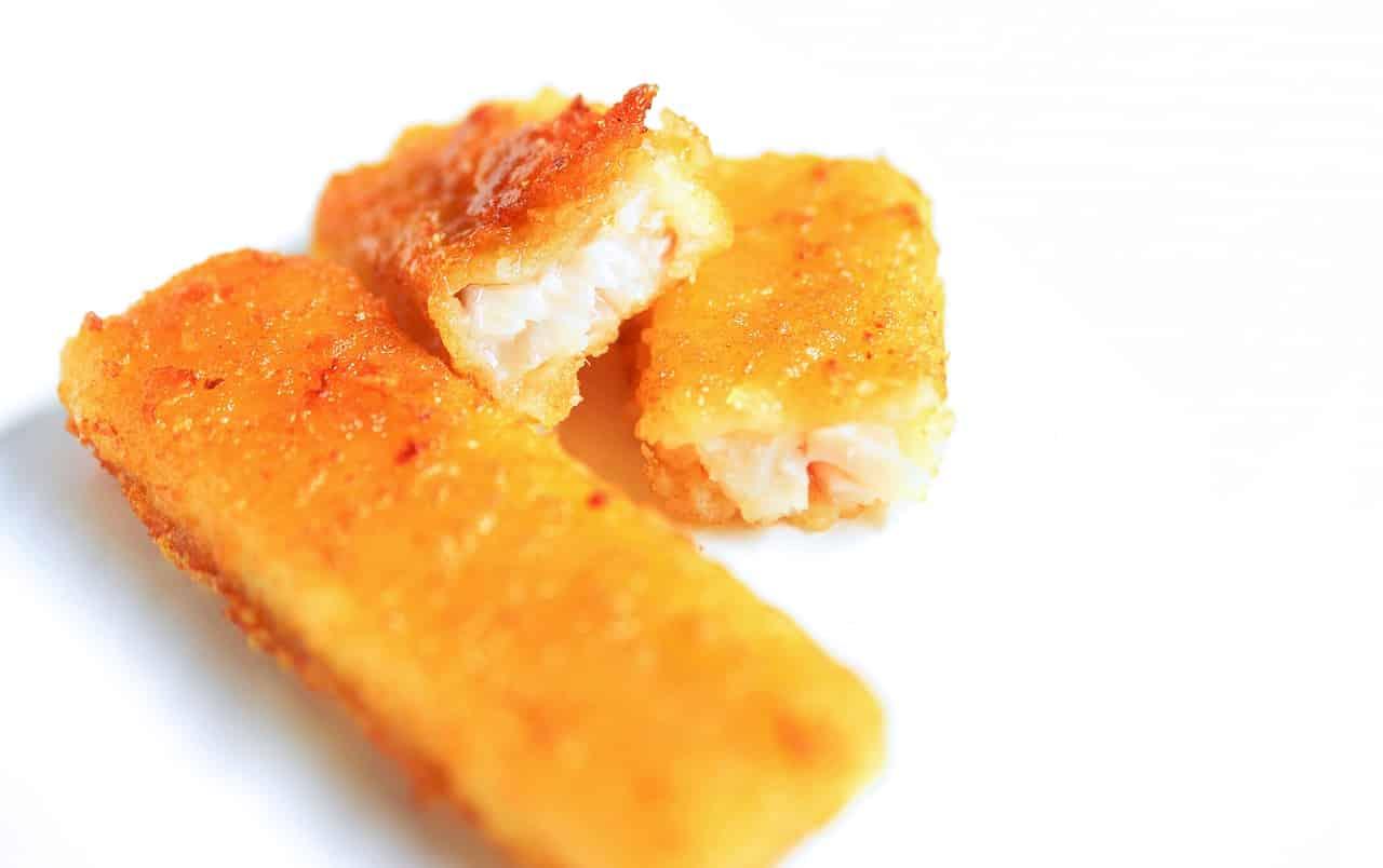 Fischstäbchen ohne Fett braten