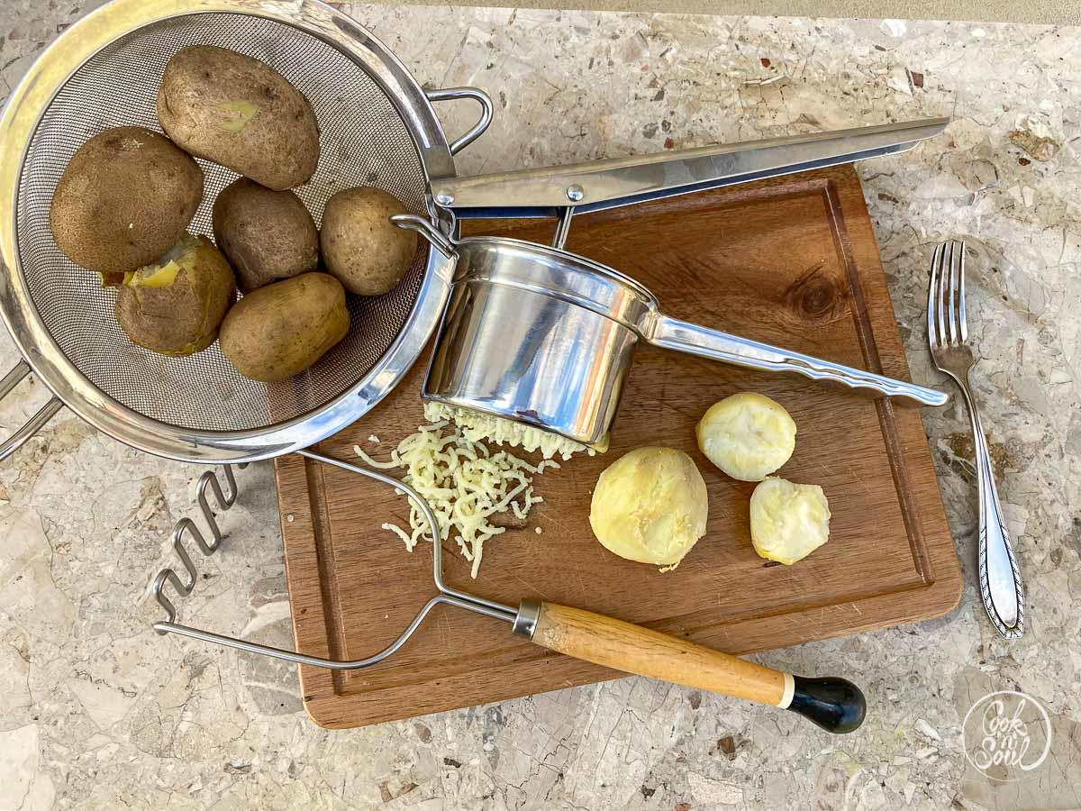Kartoffeln vom Vortag