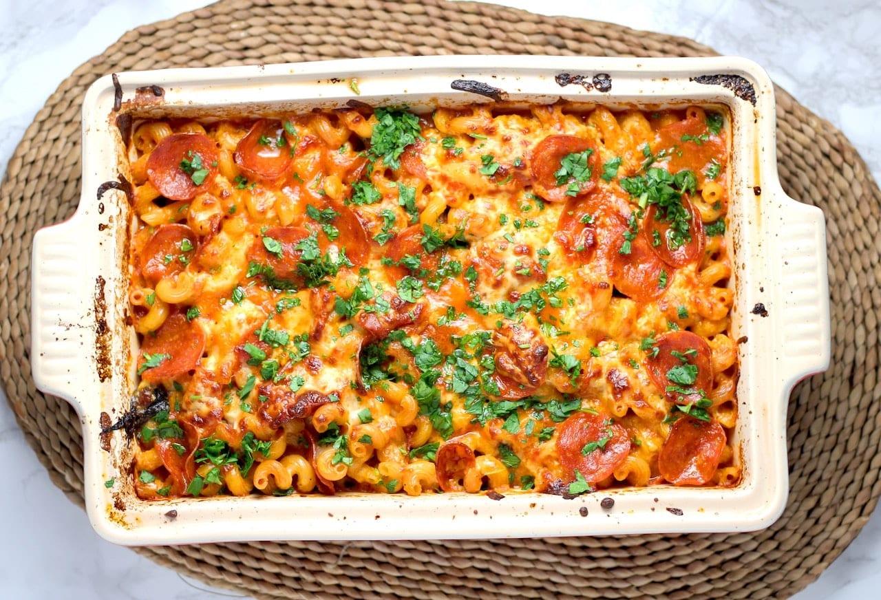 Nudelauflauf Tomate Mozzarella Rezept