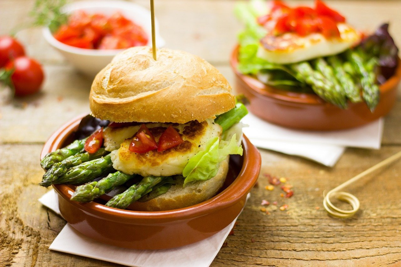 Spargel Burger Rezept