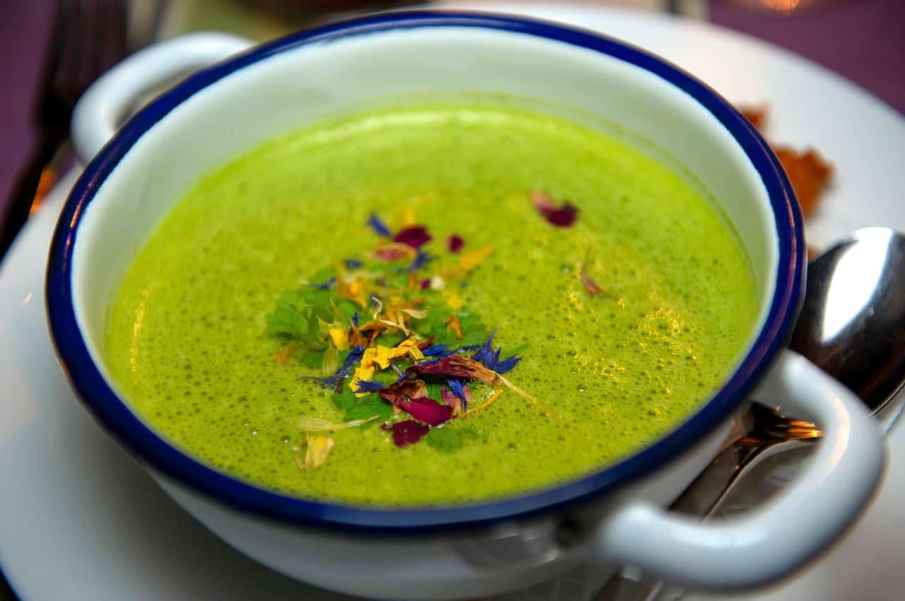 Schnittlauch Suppe