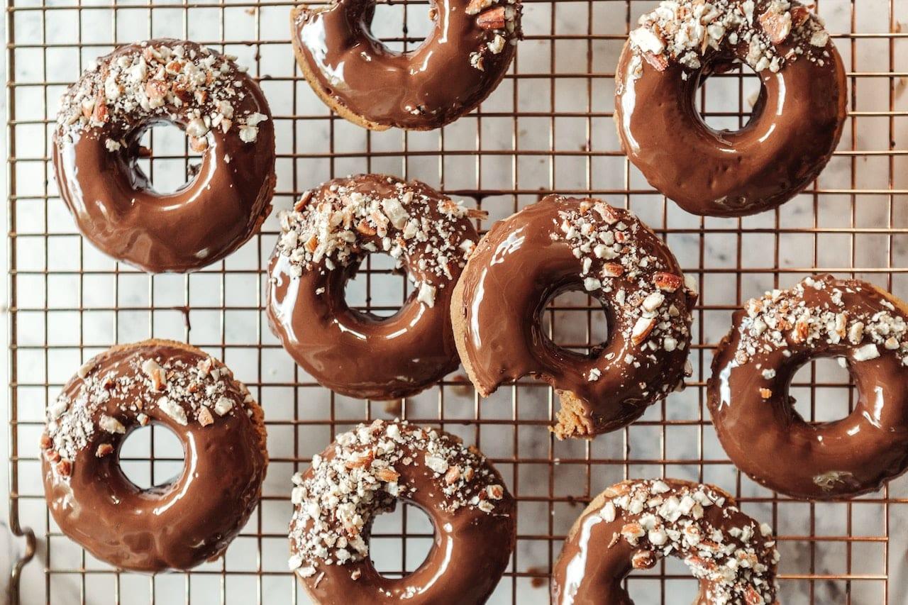 Donuts aus dem Backofen Rezept